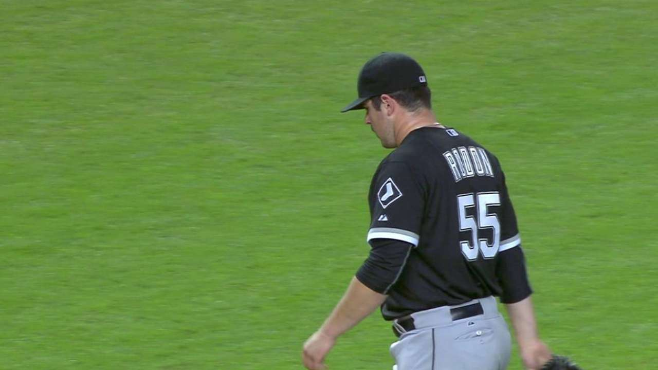 Rodon shows growth in first big league foray