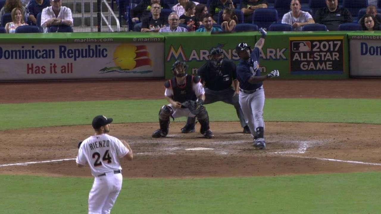 Garcia's two-run double