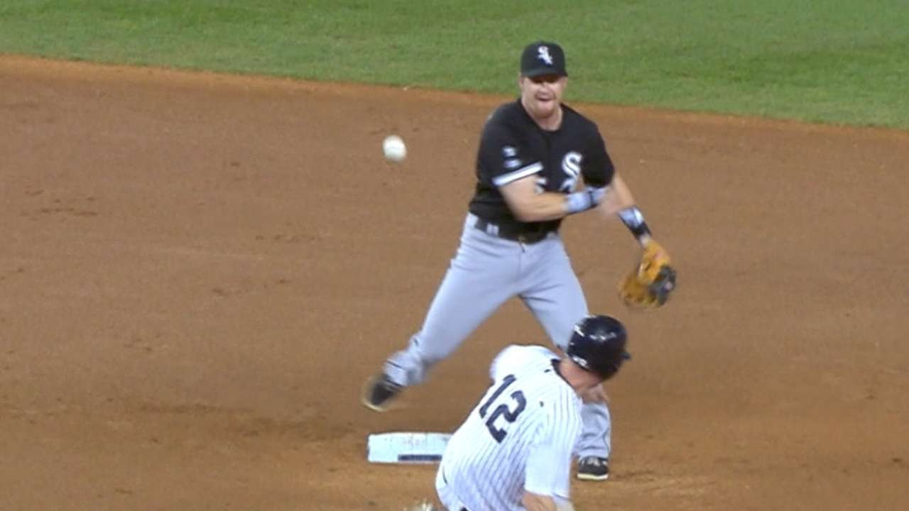 White Sox turn four double plays