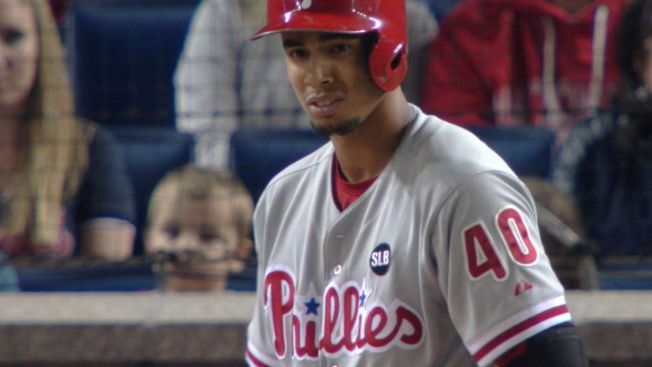 Phillies' four home runs