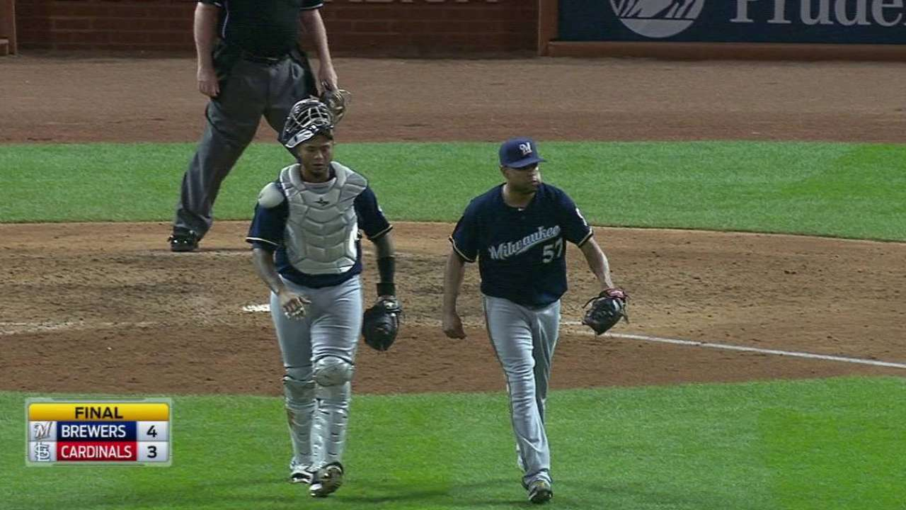 K-Rod gets the save