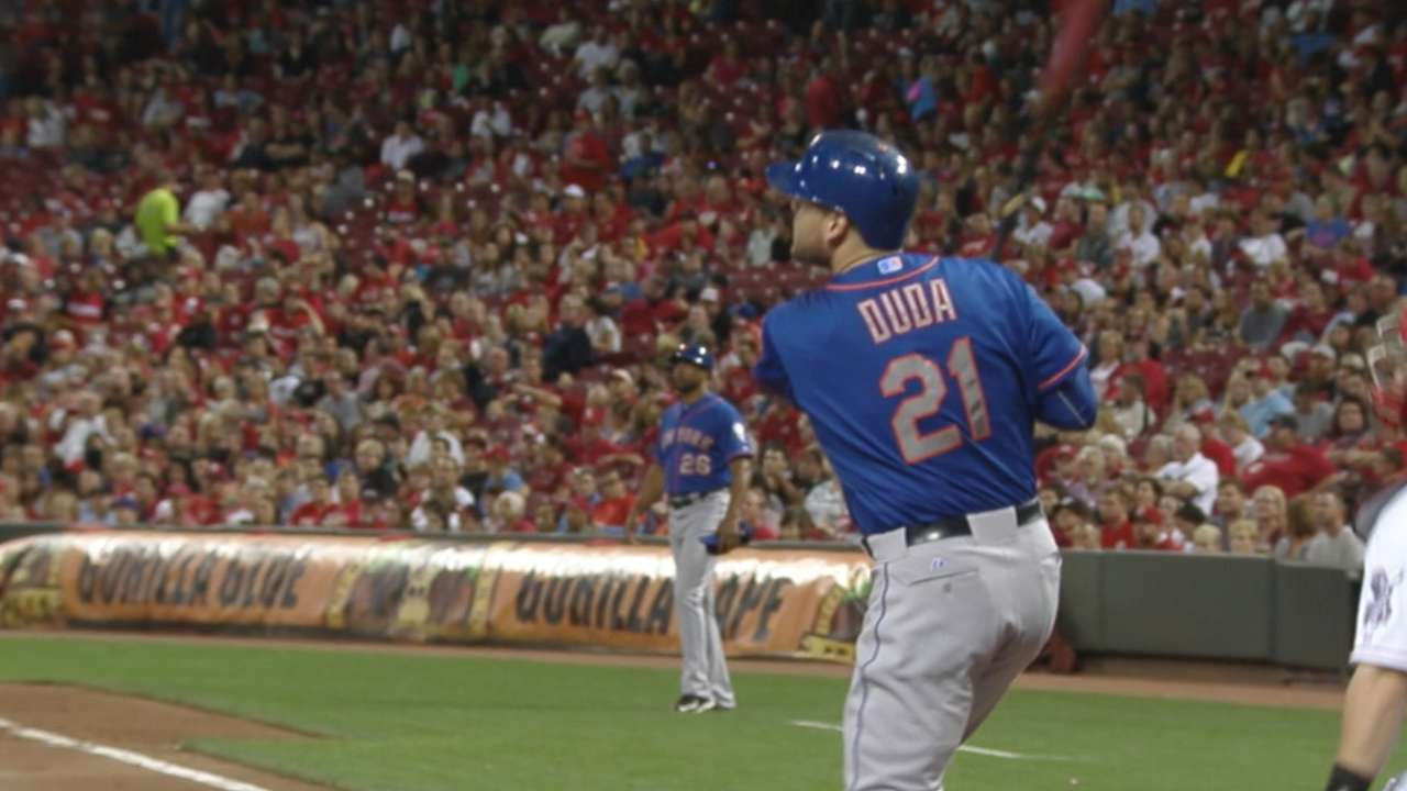 Must C: Duda goes deep twice
