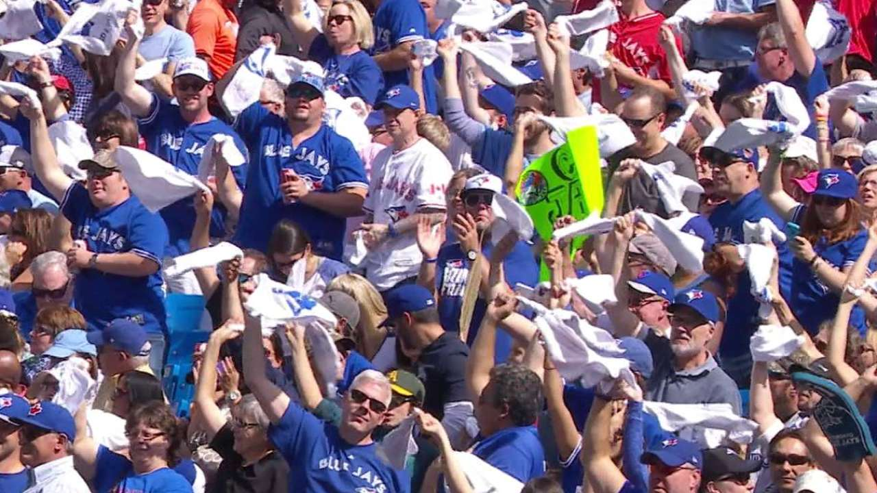 Blue Jays celebrate, look forward to more