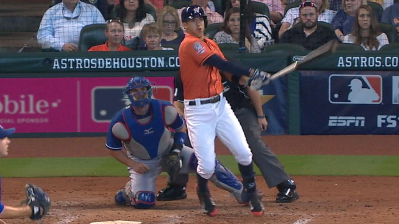 Correa's two-homer game