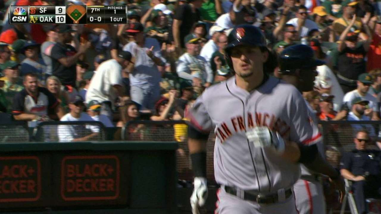 Parker's second home run