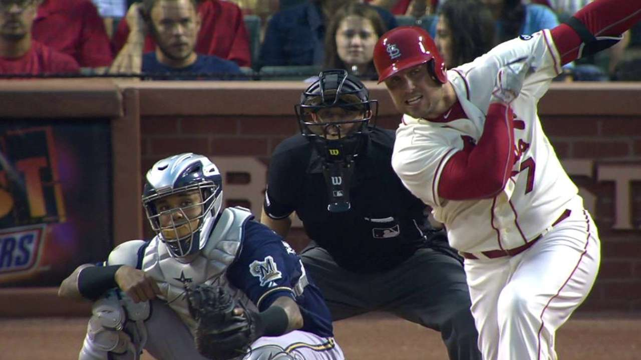 Around the Horn: Holliday anchors the OF