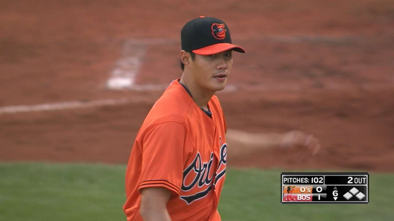 Chen goes 5 2/3 innings