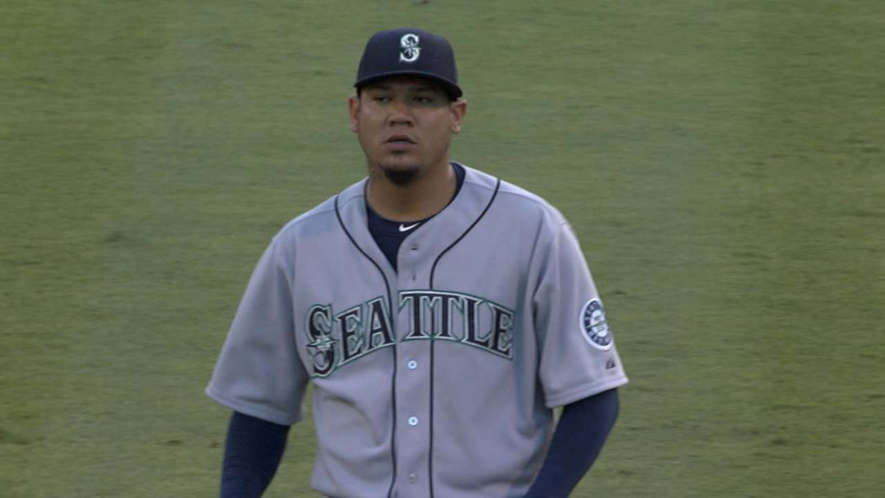 Felix limits Angels to two runs