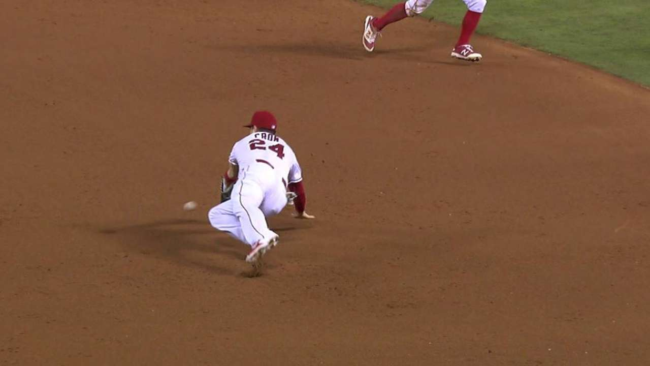 Cron's diving stop