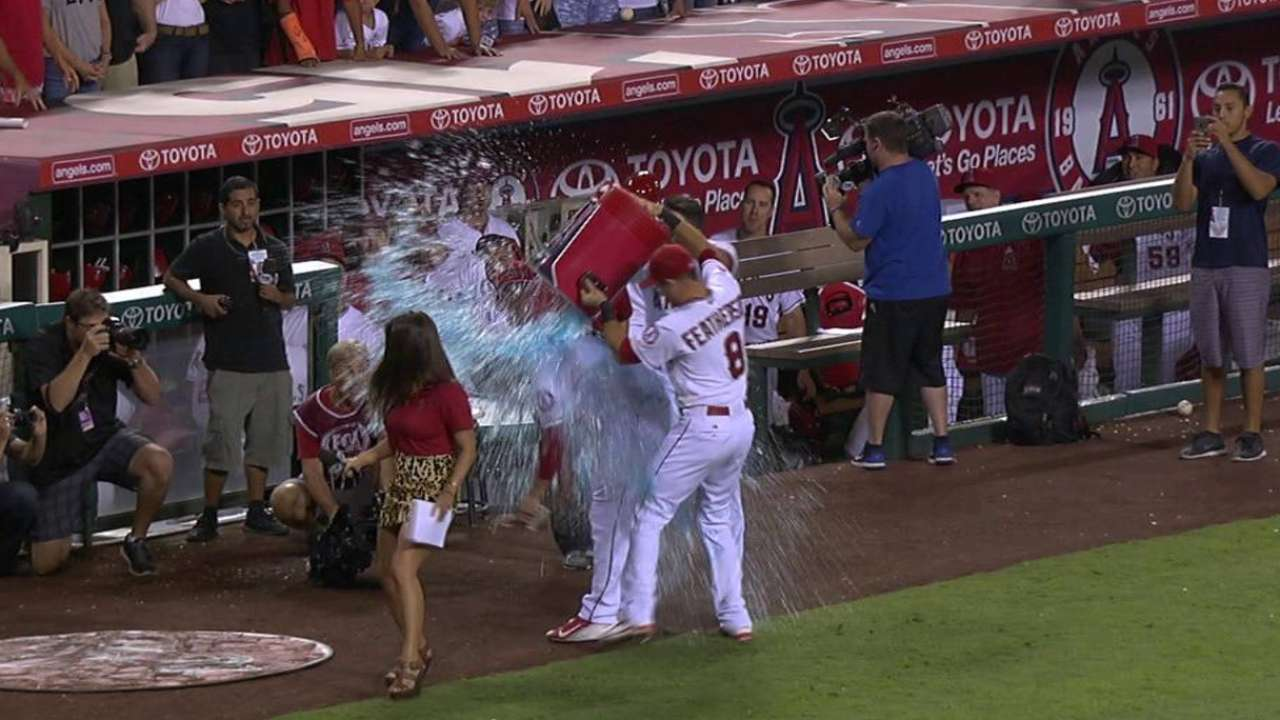 Freese soaked after walk-off