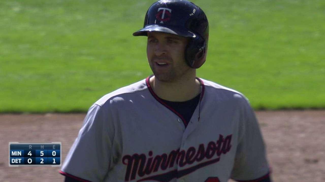 Dozier's two-run double