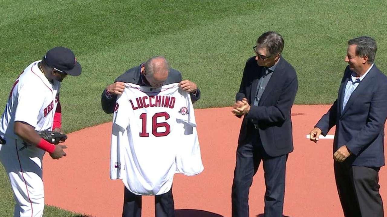 Red Sox establish emeritus role for Lucchino