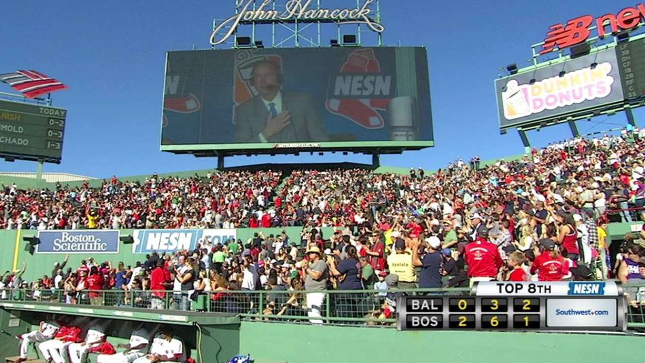 Red Sox honor Orsillo