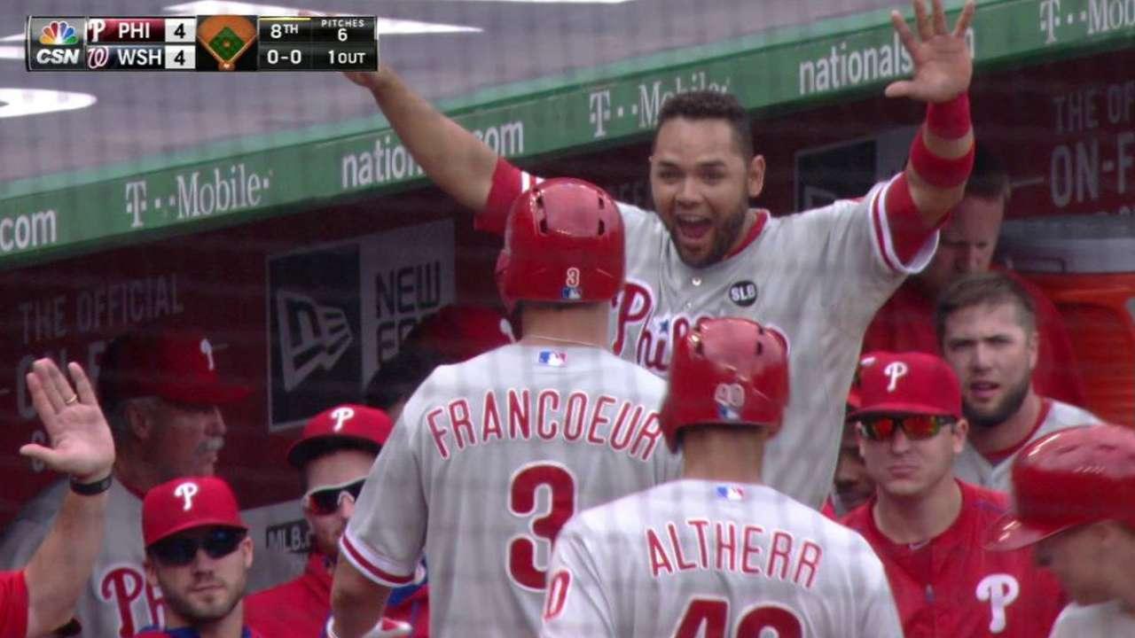 Francoeur's two-run homer