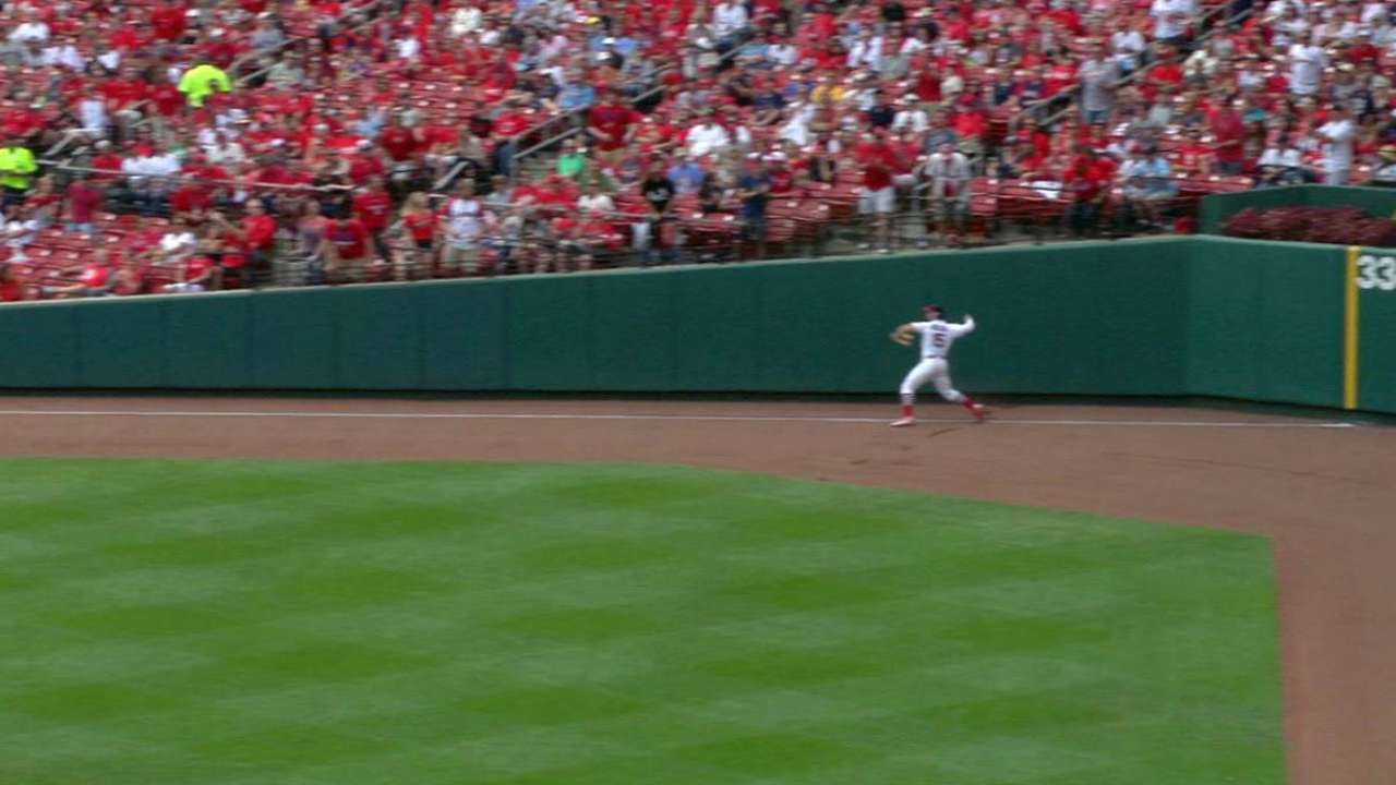 Cards weigh Grichuk as option in center