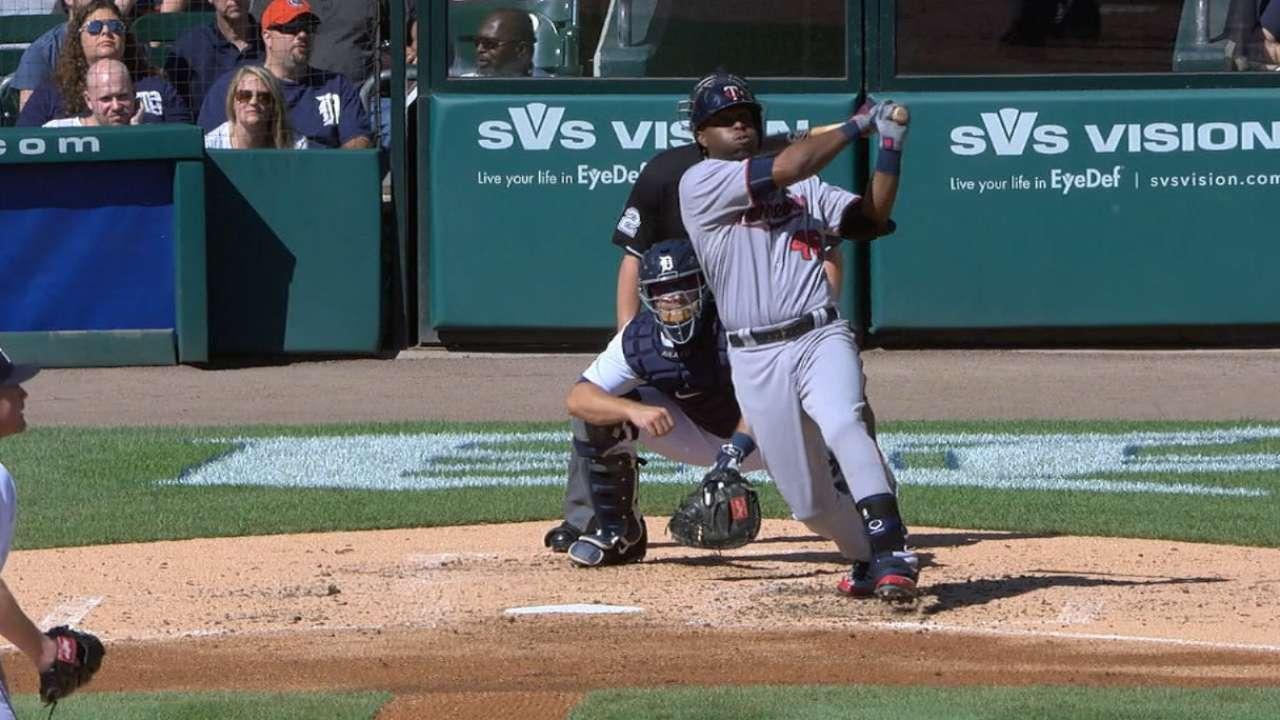 Twins' six-run 2nd inning