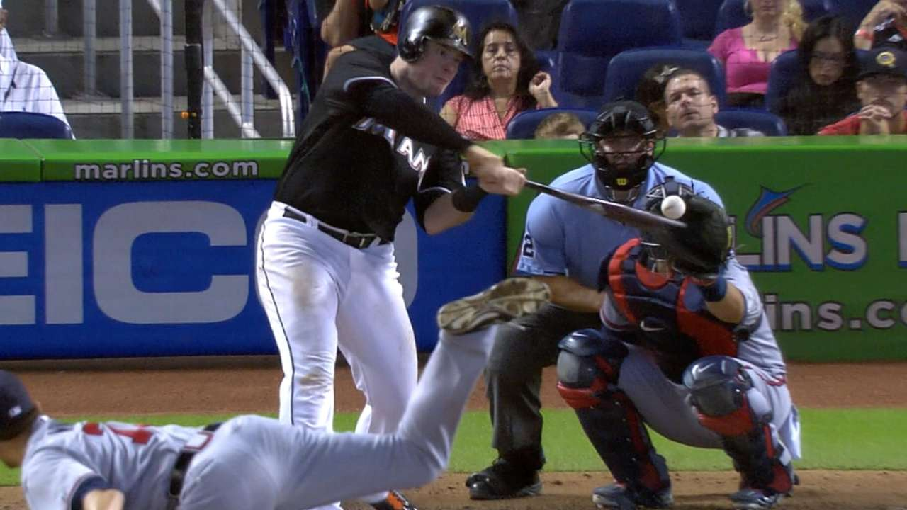Power-hitting Bour named NL Rookie of the Month