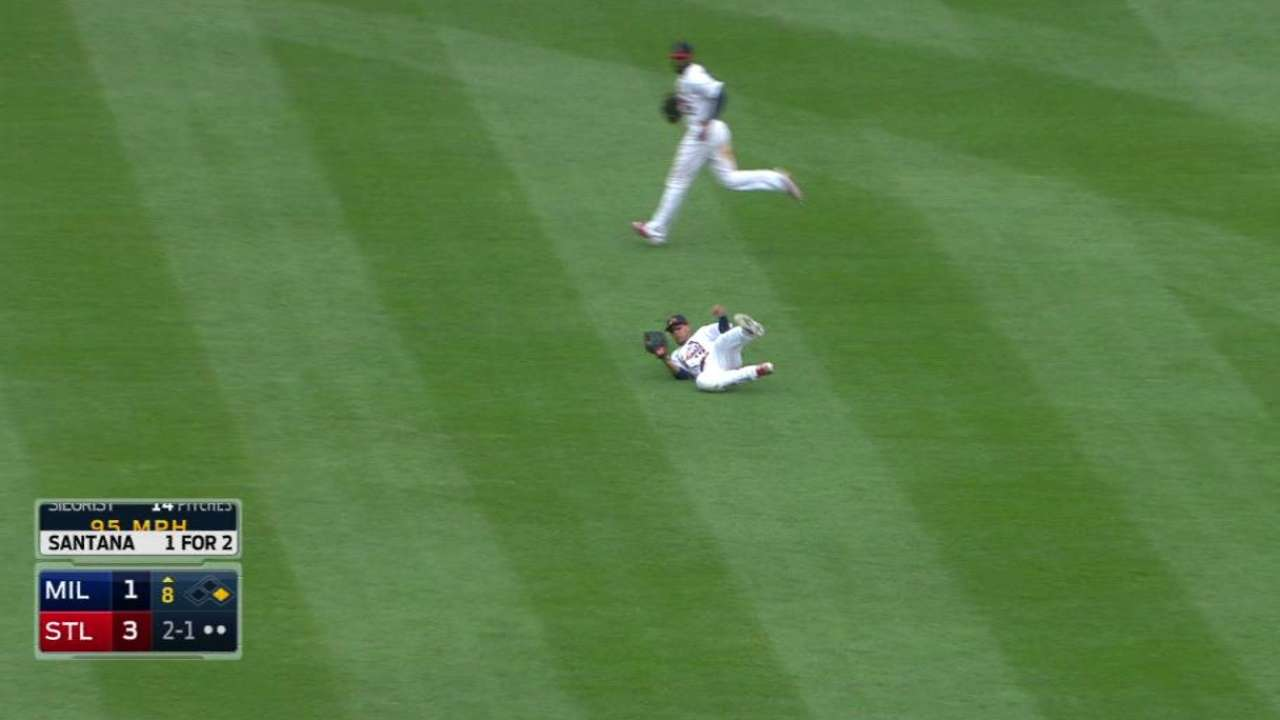 Jay's sliding catch