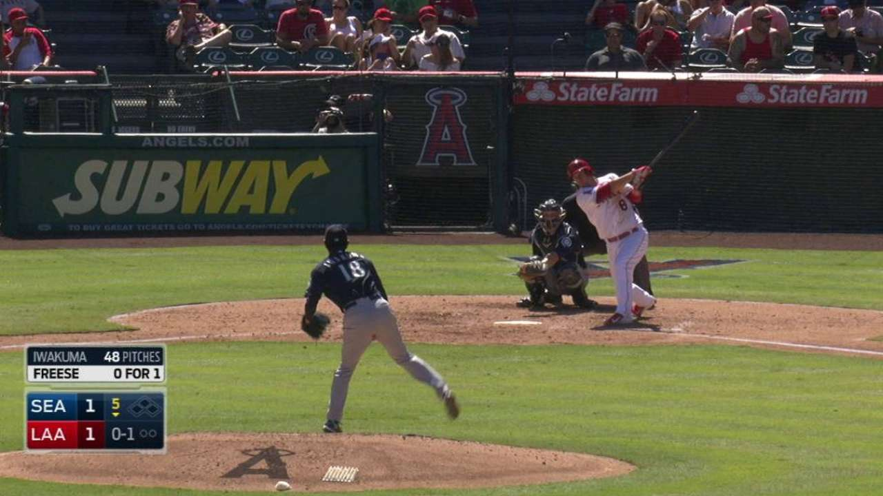 Freese's solo jack