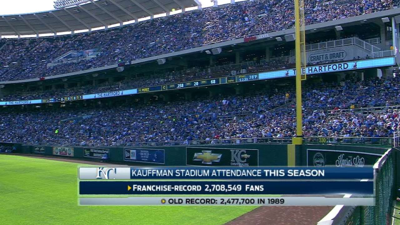 Royal fandom: KC sets attendance record