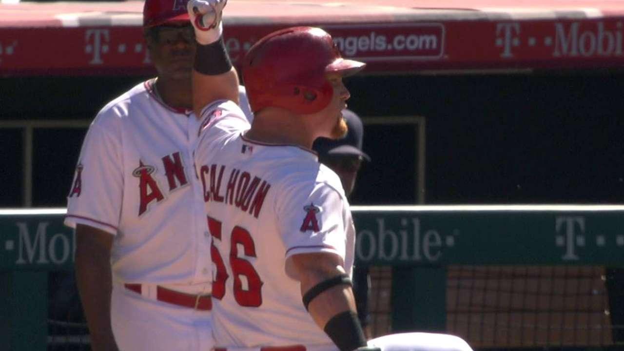 Calhoun's go-ahead single