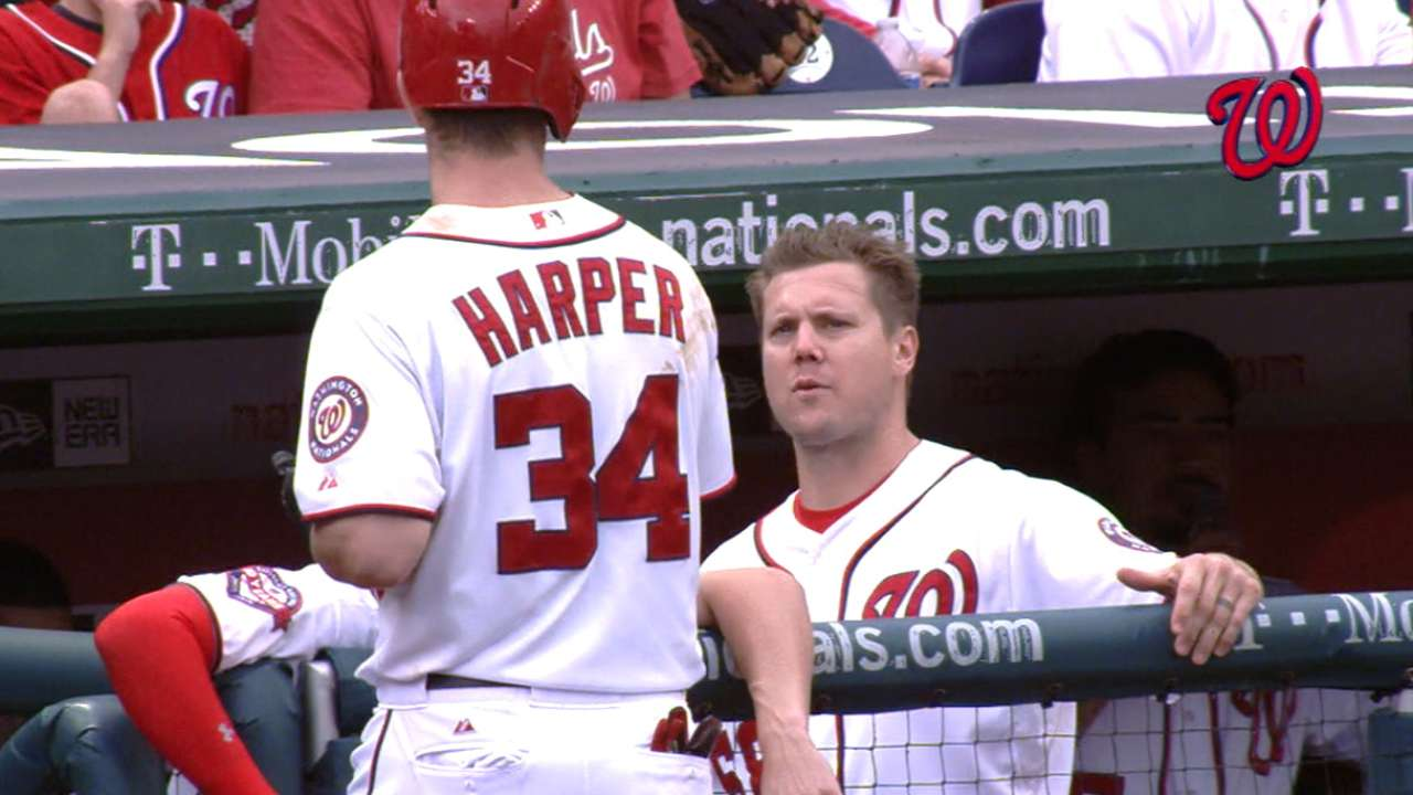 High emotions caused Harper-Papelbon tussle