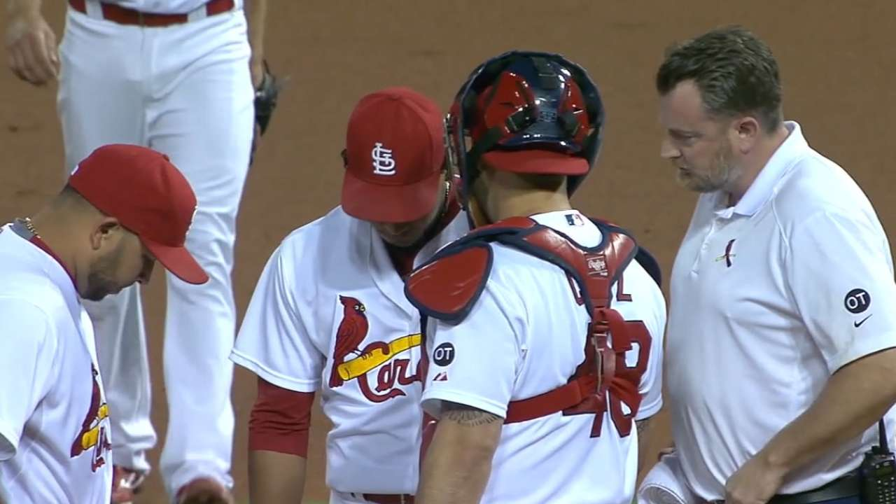 MLB Central on Martinez's injury