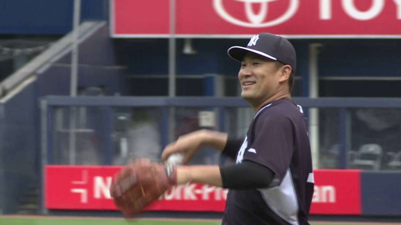 Tanaka's elbow, hamstring good enough to start