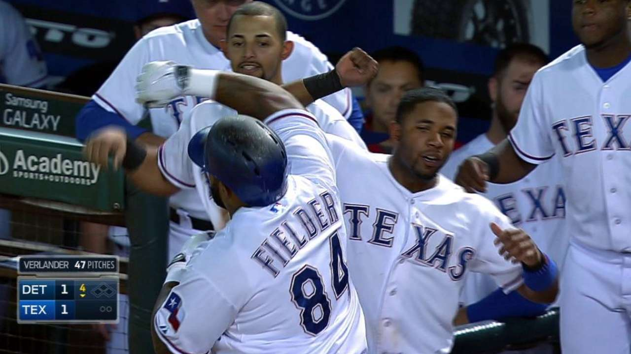 Fielder named Rangers Player of the Year