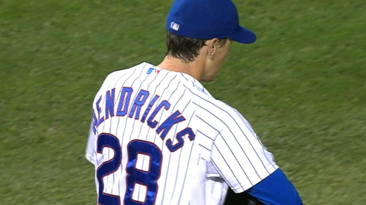 Hendricks' scoreless start