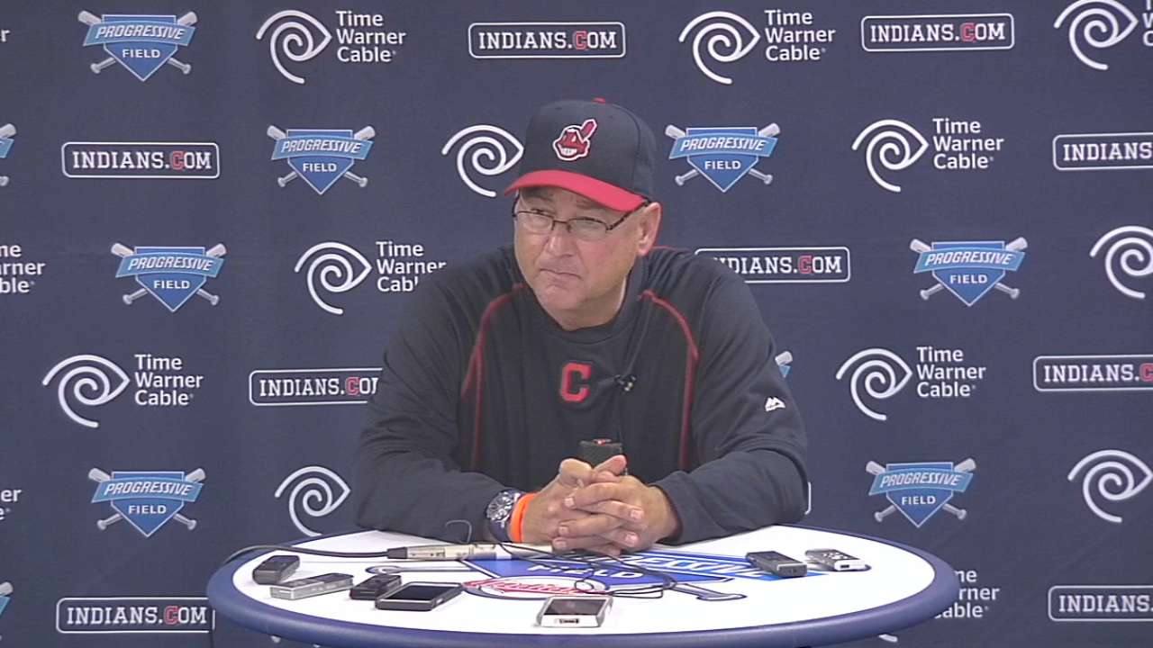 Francona on loss to Twins