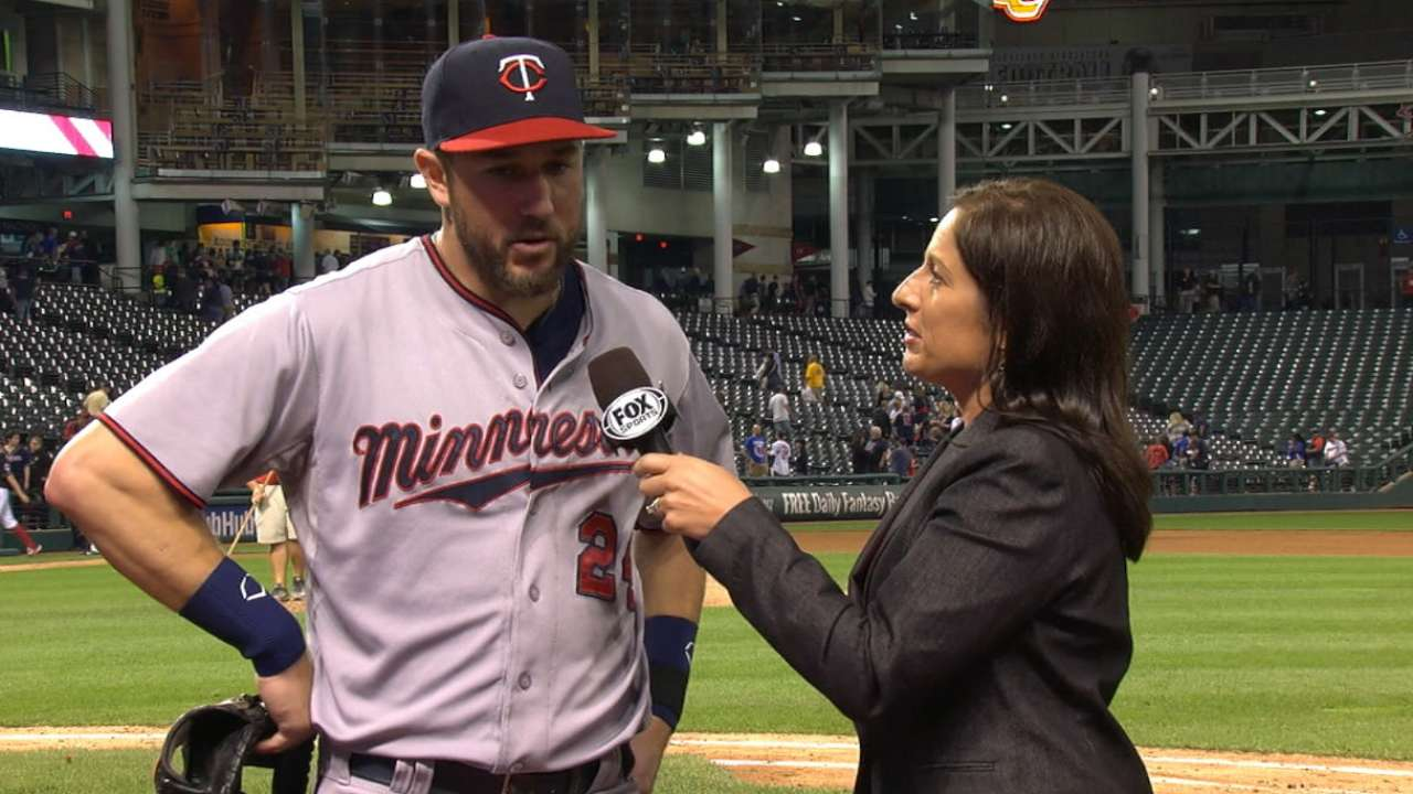 Plouffe on homer, Twins' win