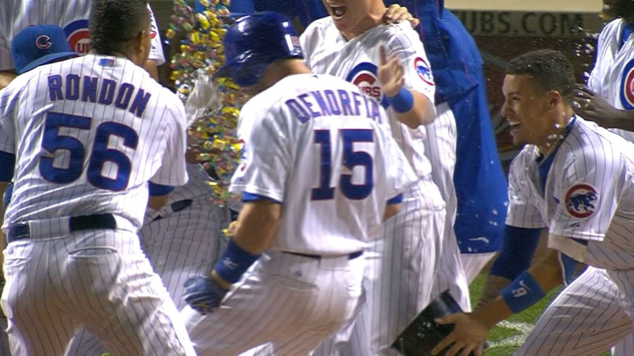 Cubs end duel with KC on walk-off HR in 11