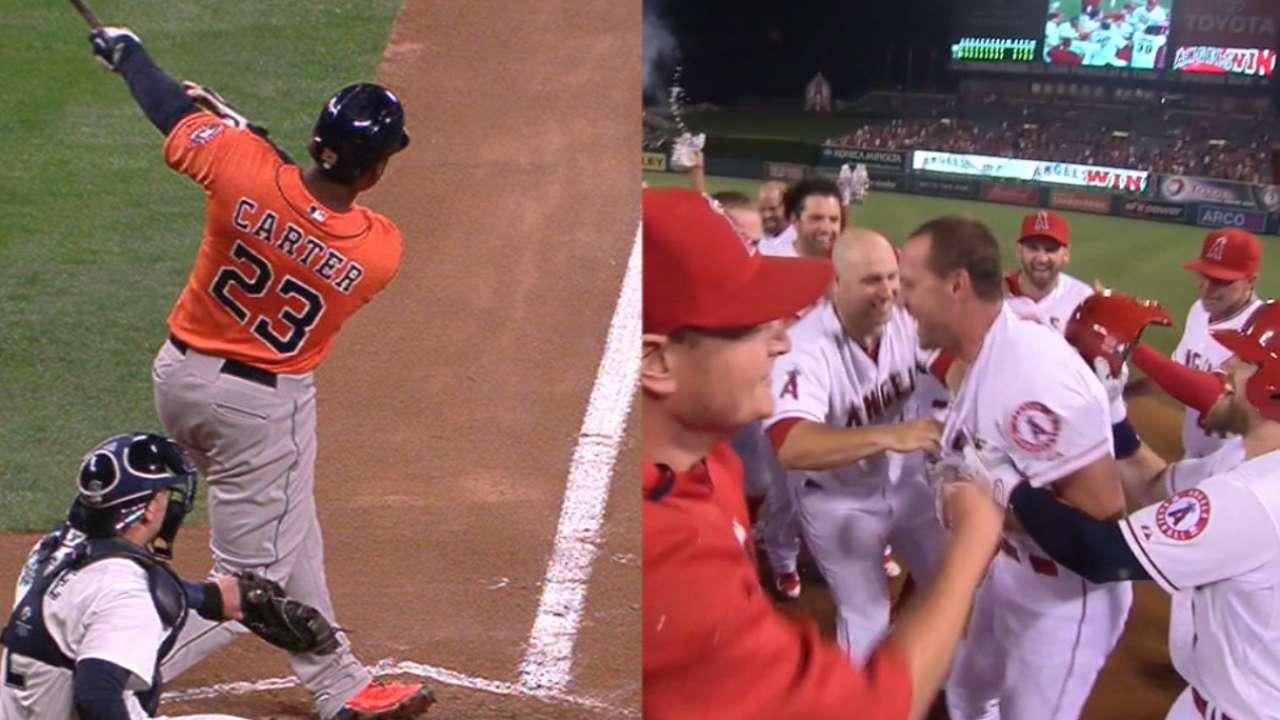 West 'n' Wild: Astros, Angels, Twins get W's