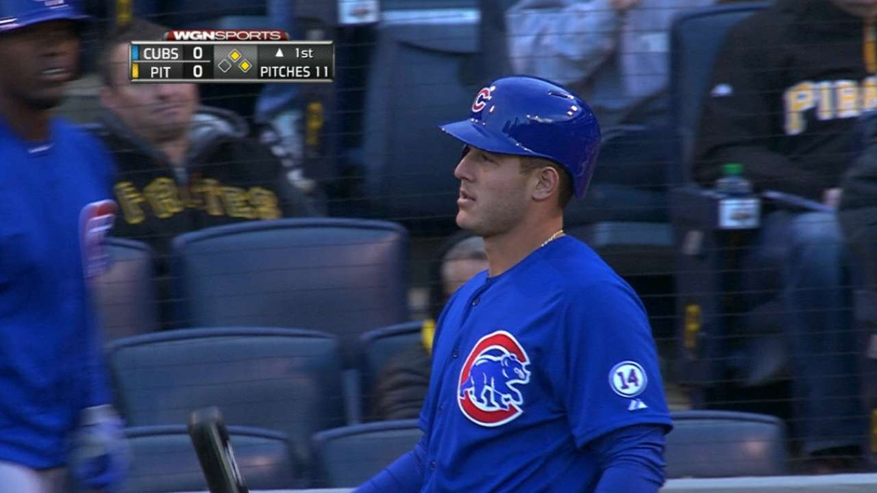 Rizzo's 30 hit-by-pitches