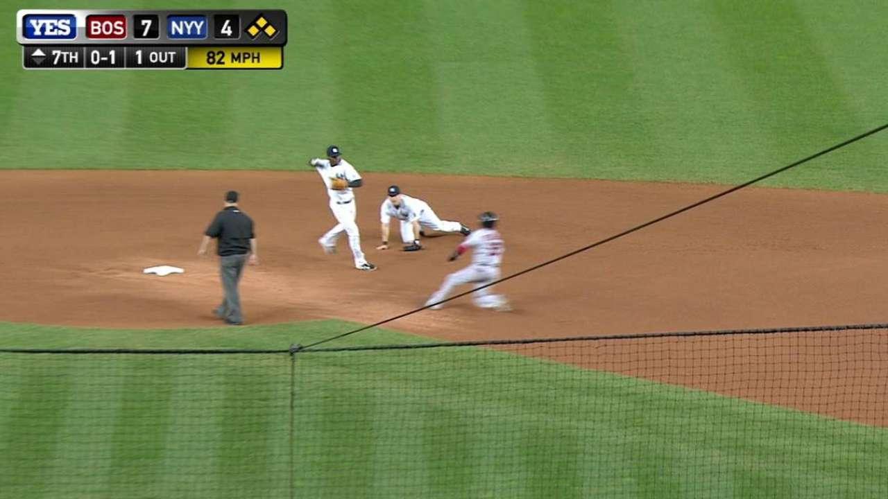 Yankees escape jam