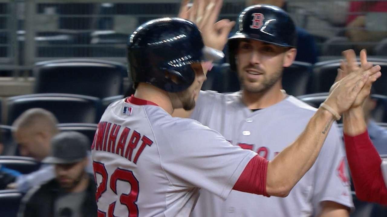 Red Sox's six-run 1st inning
