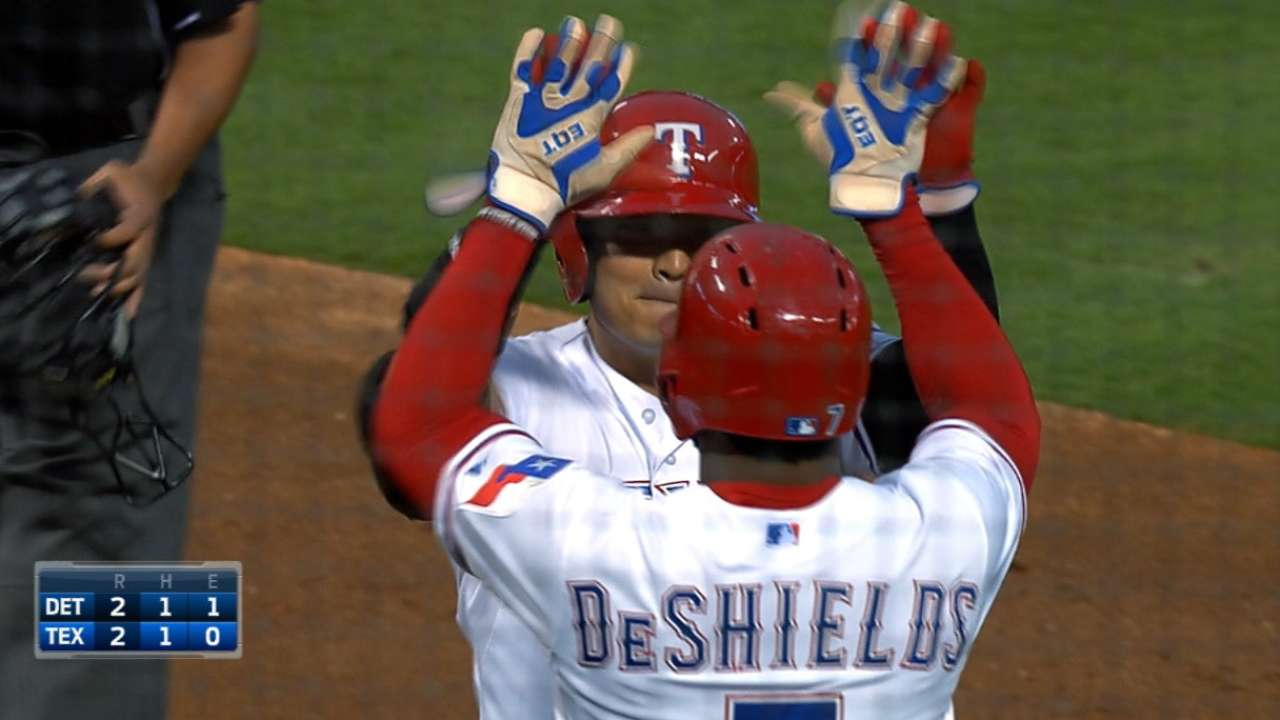 Rangers snap skid, reduce magic number
