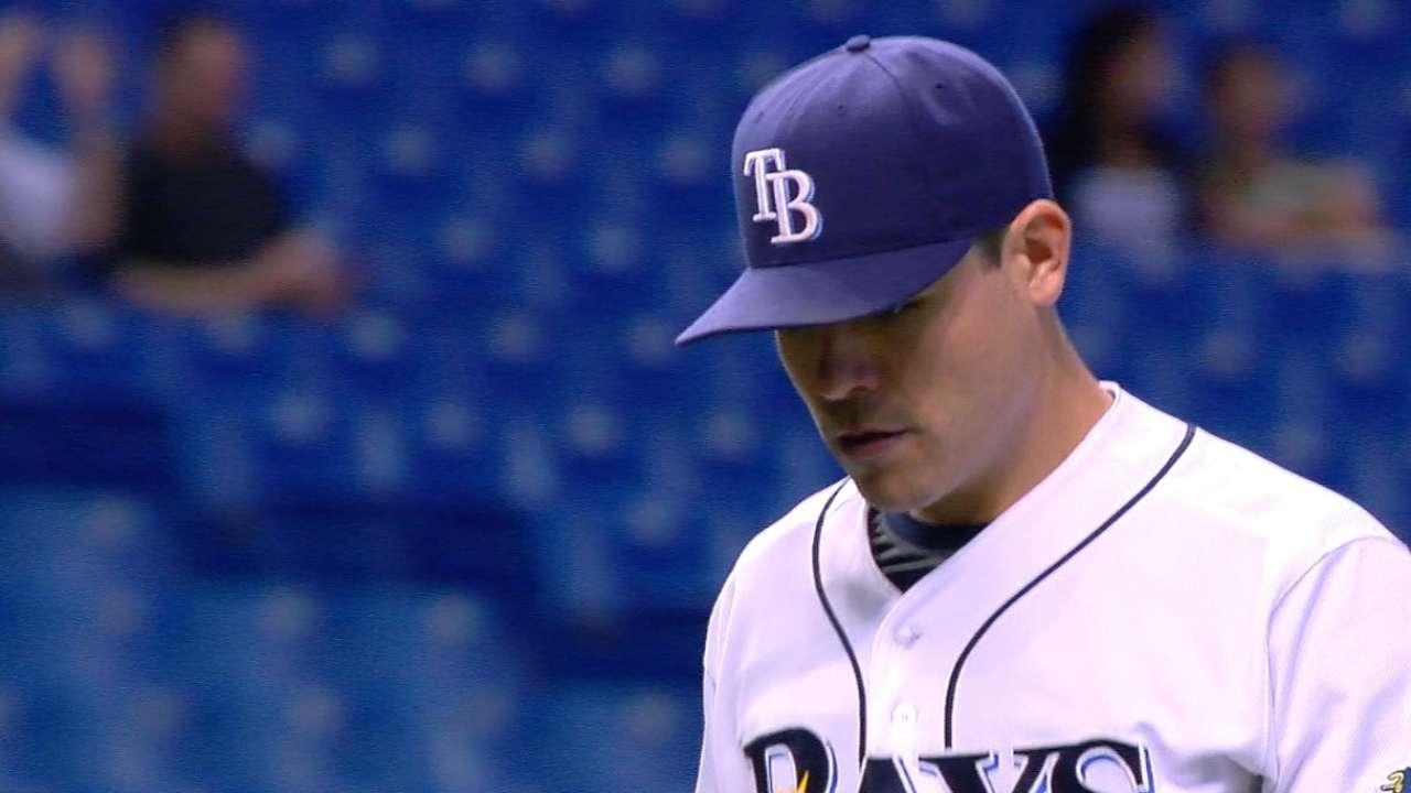 Rays set rotation for final series vs. Toronto