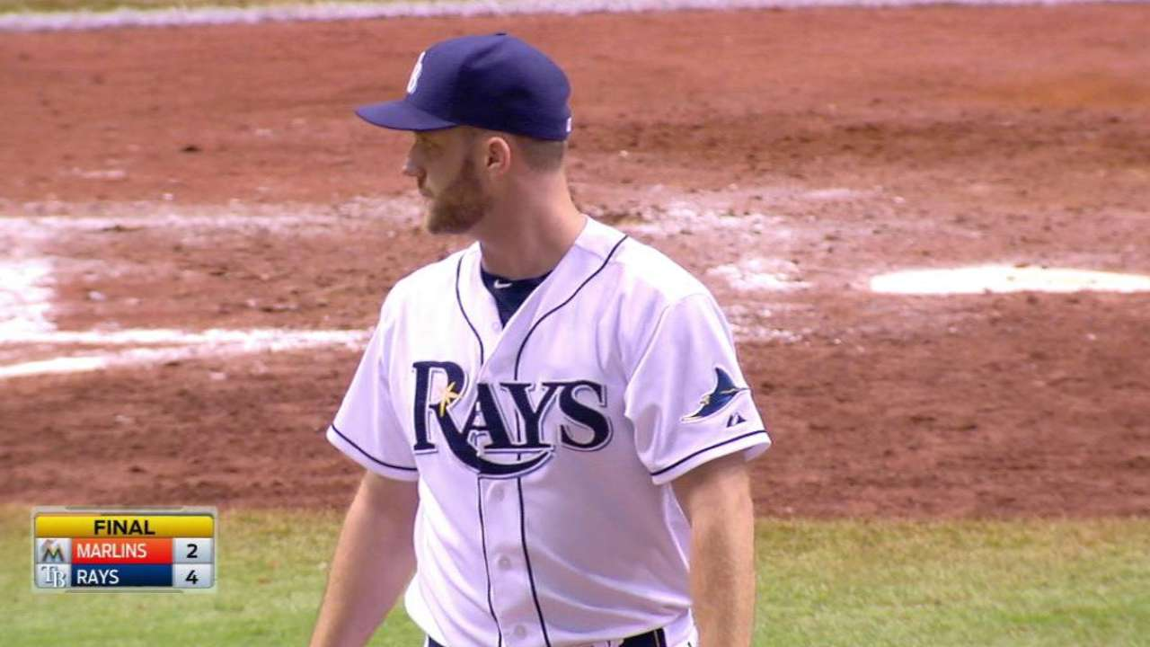 Boxberger notches 39th save