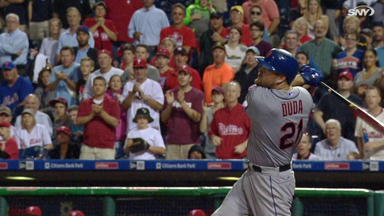 Duda's two-run homer