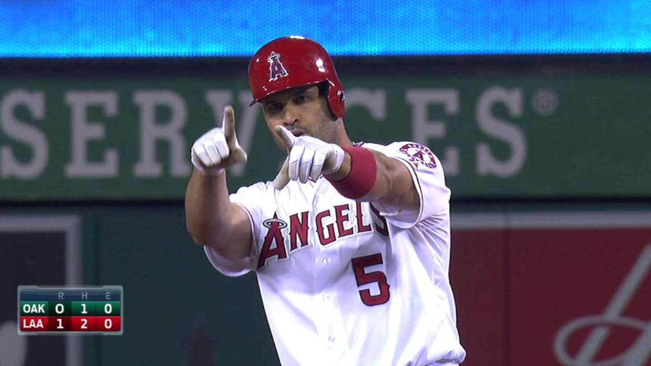From one to nine, Angels' lineup shines