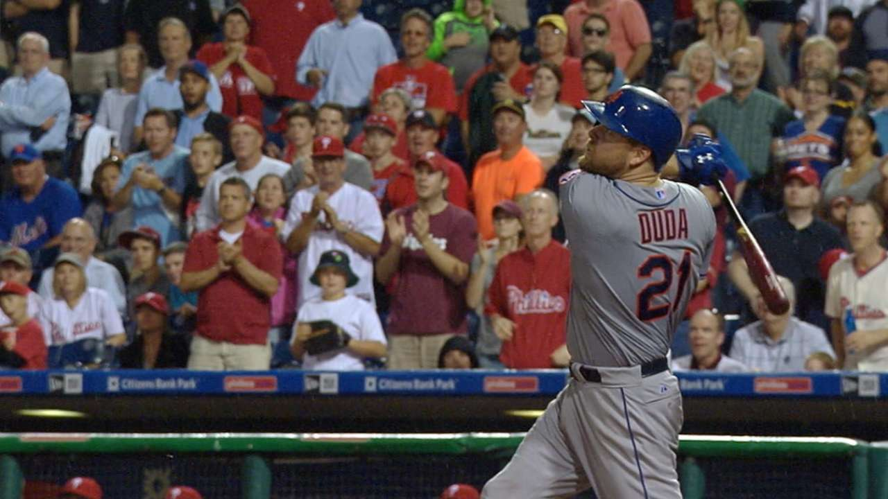 Duda's two-home run game