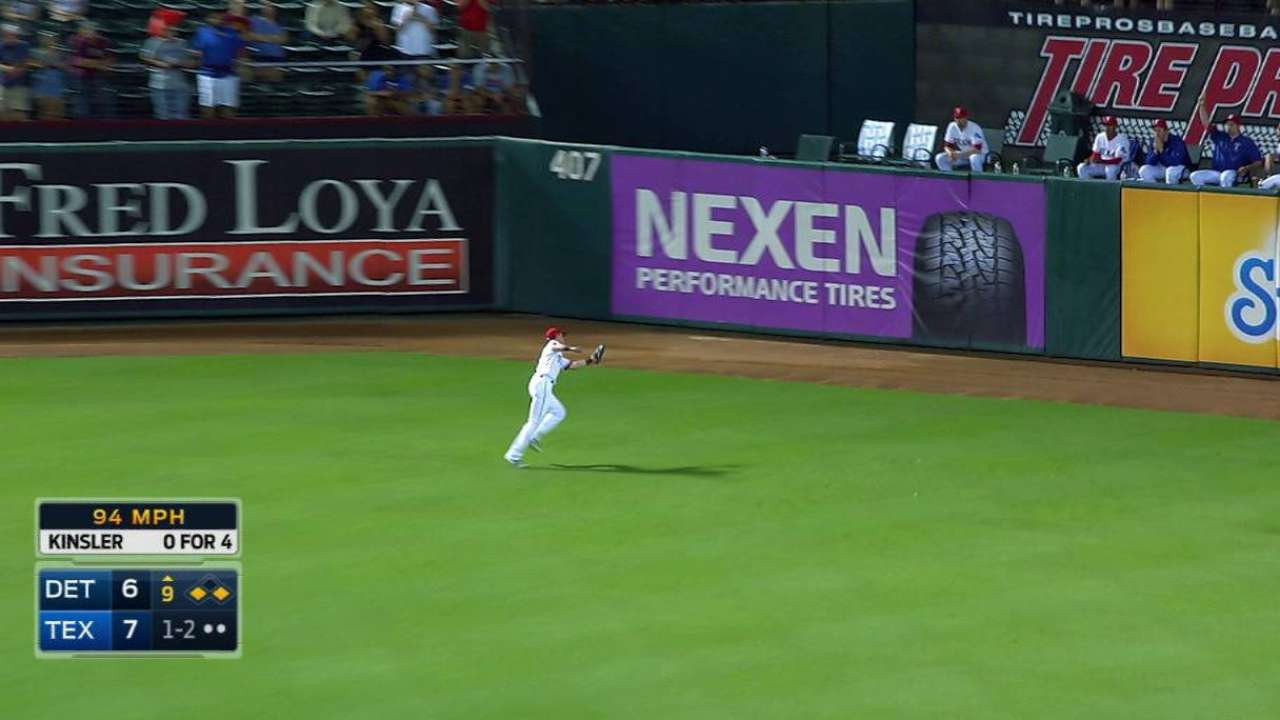 Stubbs' nice catch ends game