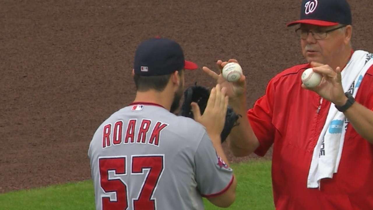 Roark's strong start