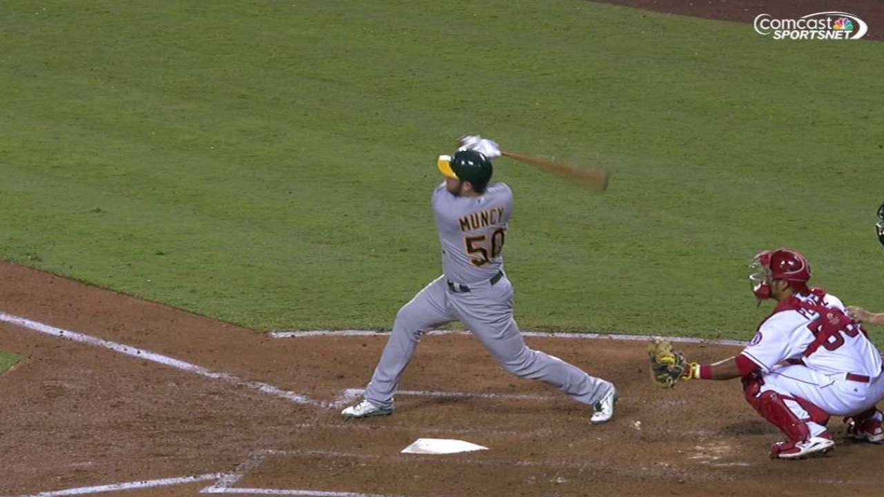 Muncy hoping to develop versatility at winter ball