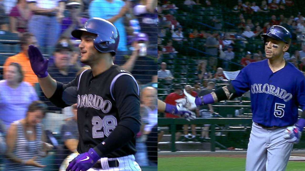 For Arenado, CarGo, HR race will go to the wire