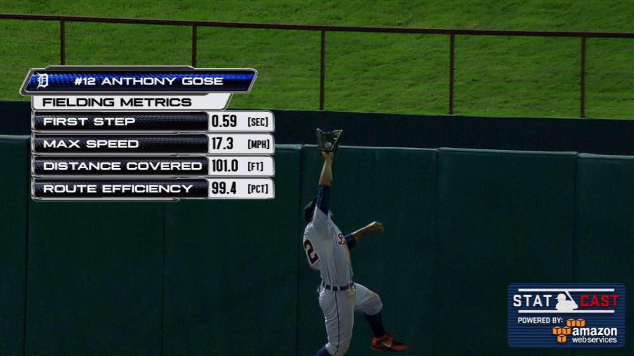 Statcast: Gose's great catch