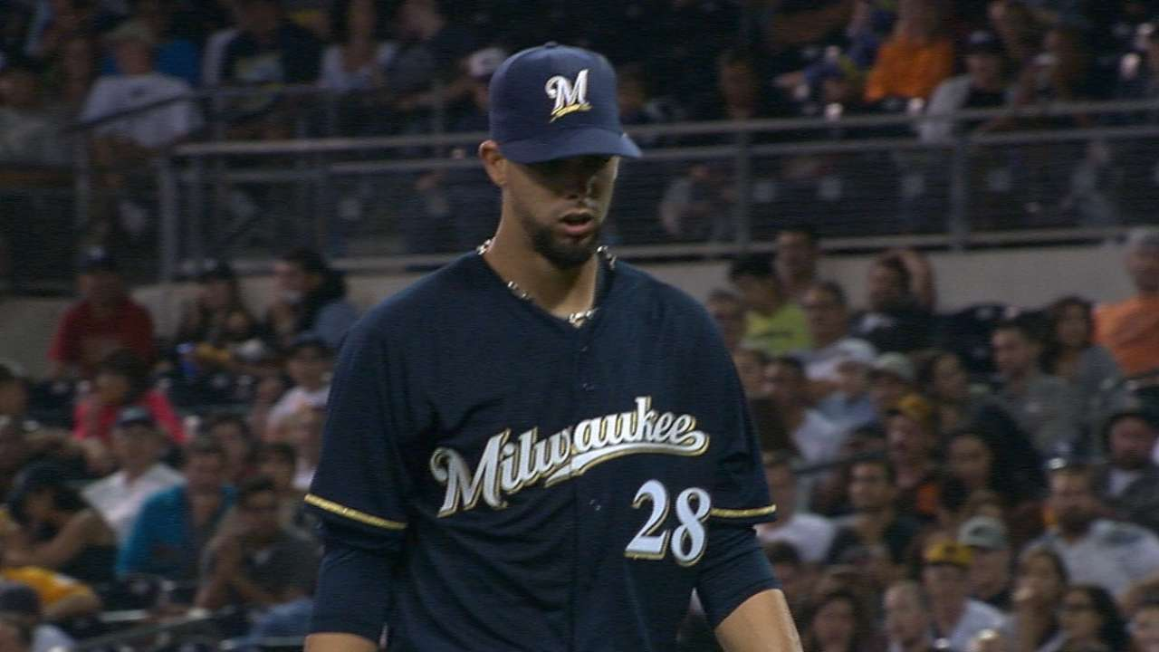 Brewers impressed by Lopez's strong debut