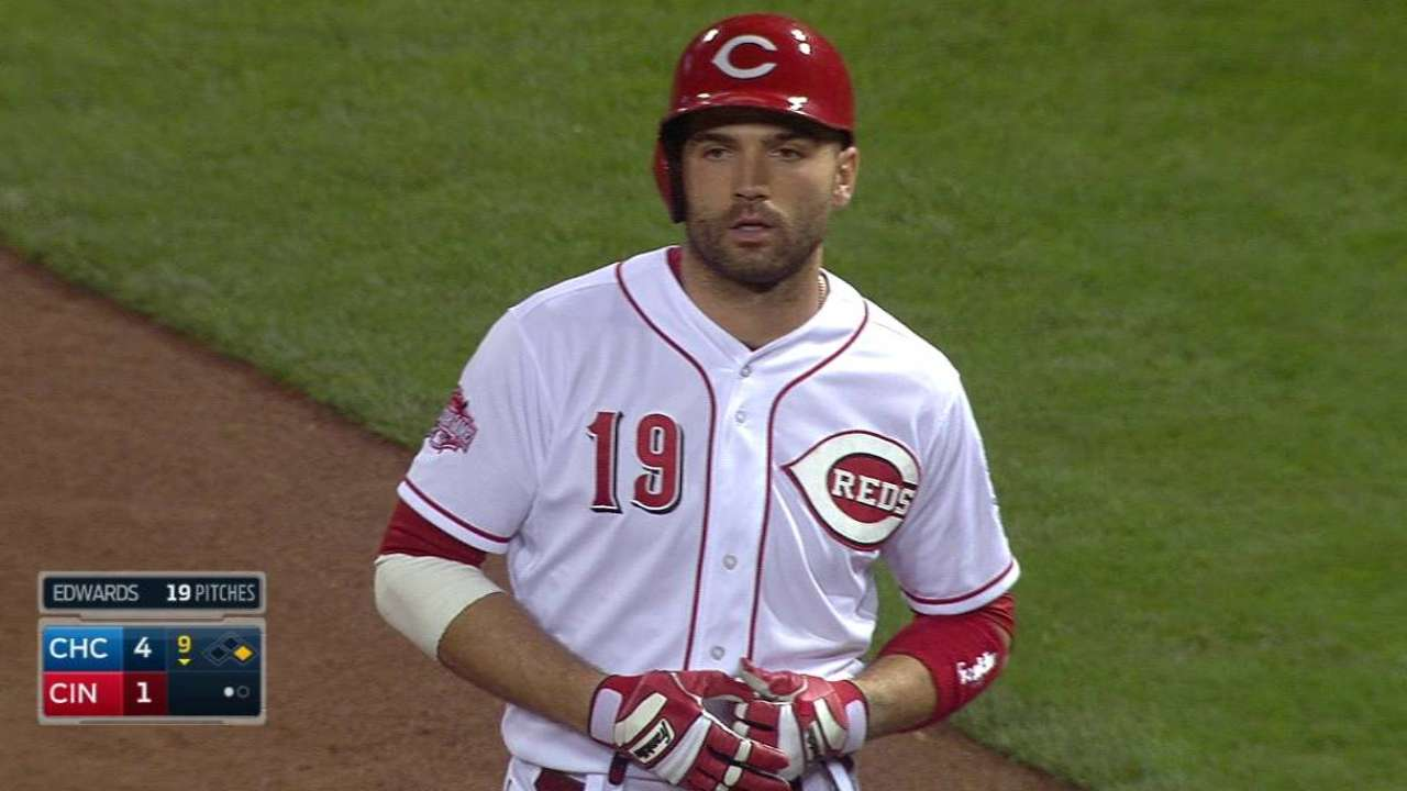 Votto, Frazier given rest against Cubs